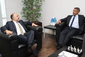 Ministro George Hilton e Romário
